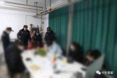 禹州警方集中对禹王广场、时代广场进行清理清查