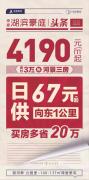 禹州海盛湖滨豪庭4190元/㎡起 抢河景三房