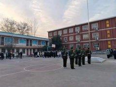 """禹州南区学校举行""""新起点、新希望""""主题升旗仪式"""