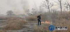 禹州褚河派出所民警帮助村民灭火
