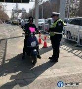 禹州交警深化开展春运交通安全宣传活动