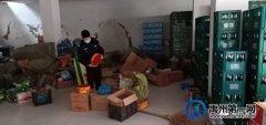禹州褚河派出所行政拘留一名非法储存易燃易爆危险物质人员