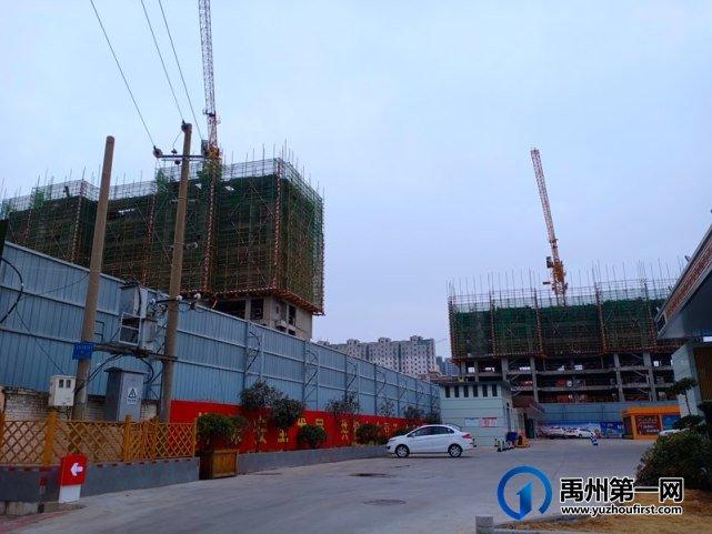 禹州绿城蘭亭2月份工程进度