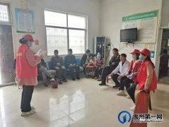 """禹州中专开展""""党史学习教育进社区""""宣讲活动"""