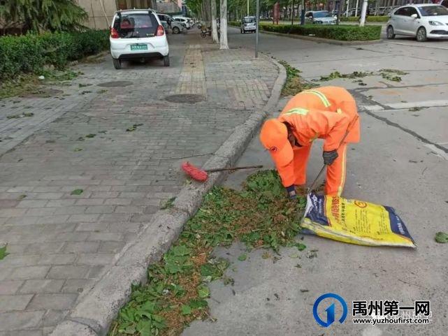 """禹州环卫:多措并举提质量 干净整洁迎""""五一"""""""