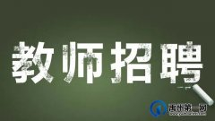 禹州南区学校教师招聘公告