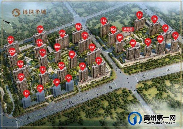 禹州天润府、锦绣华城部分楼盘取得部分商品房预售