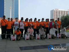 禹州高中对校园进行全面疫情防控消杀