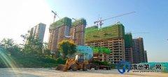 禹州碧桂园城市之光9月实景进度实拍