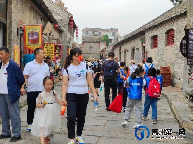 禹州国庆假期第一天神垕古镇景区非常热闹!国庆打卡必游之地~