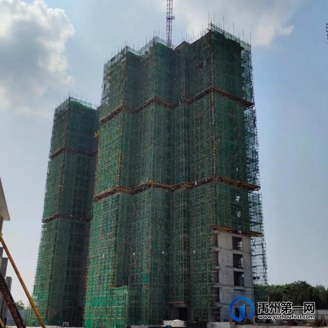 禹州建业大城小院10月工程进度 时光筑美好 一纸传匠心