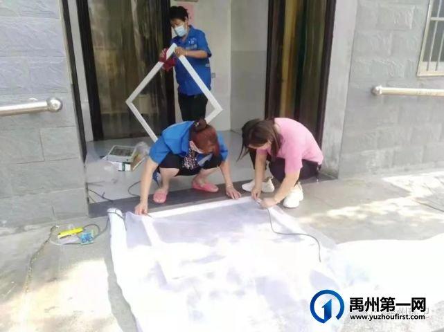 禹州环卫:雨后大清洁 干净迎创文
