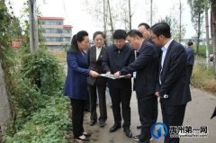 禹州市长陈涛调研市第六实验学校建设推进情况